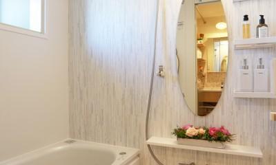 浴室|好きなモノに囲まれて暮らす~ナチュラルテイストな家
