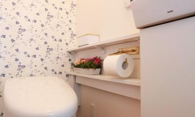 トイレ|好きなモノに囲まれて暮らす~ナチュラルテイストな家