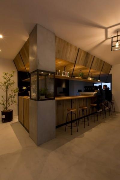 店内 (アイアンフレームを使ったオシャレなカフェ(cafe CICERO))