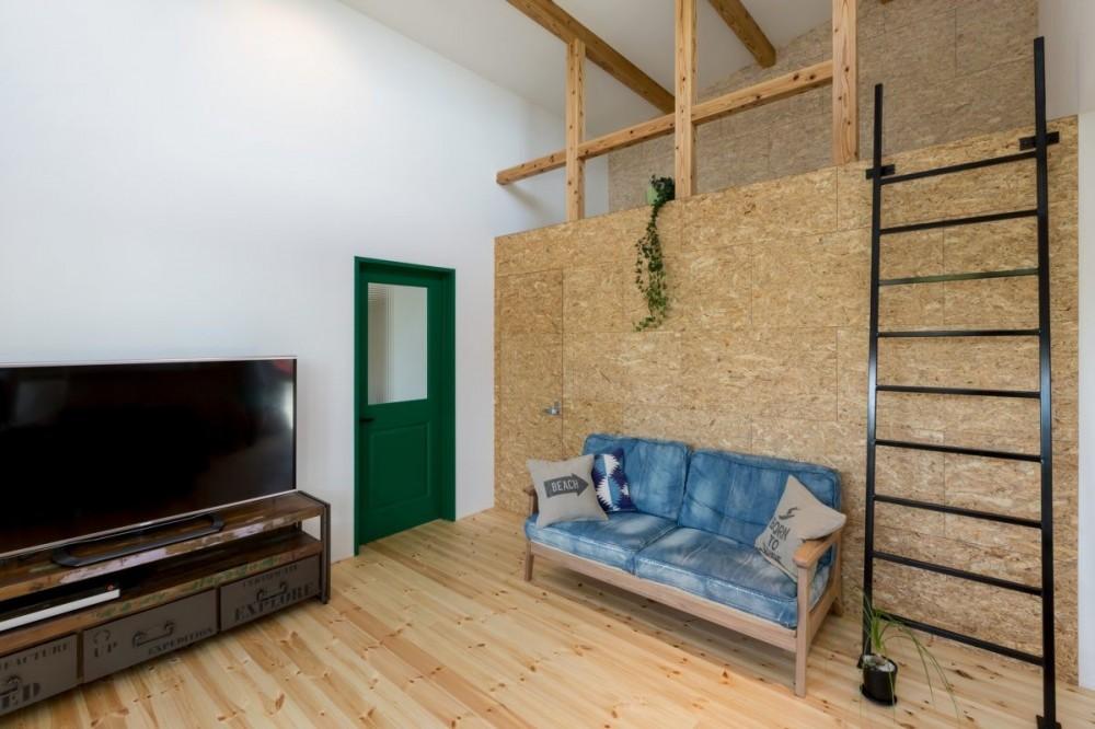 ALTS DESIGN OFFICE(アルツデザインオフィス)「外にいるような開放的な美容室併用住宅(ヘアーサロンPECOS)」