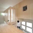 家の中に家がある多様な広がりのある家(安土の家)の写真 二階