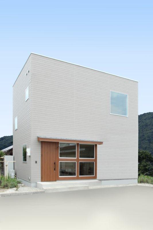 外観事例:外観(家の中に家がある多様な広がりのある家(安土の家))