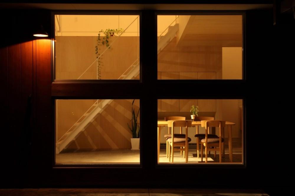 家の中に家がある多様な広がりのある家(安土の家) (外観)