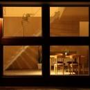 家の中に家がある多様な広がりのある家(安土の家)の写真 外観