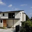 神社の緑を借景としたスキップフロアの家の写真 豊橋の家〜神社の緑を借景としたスキップフロアの家〜