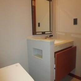 リゾートホテルライクなトイレ空間