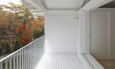 Villa Stella (autumn) (バルコニー)