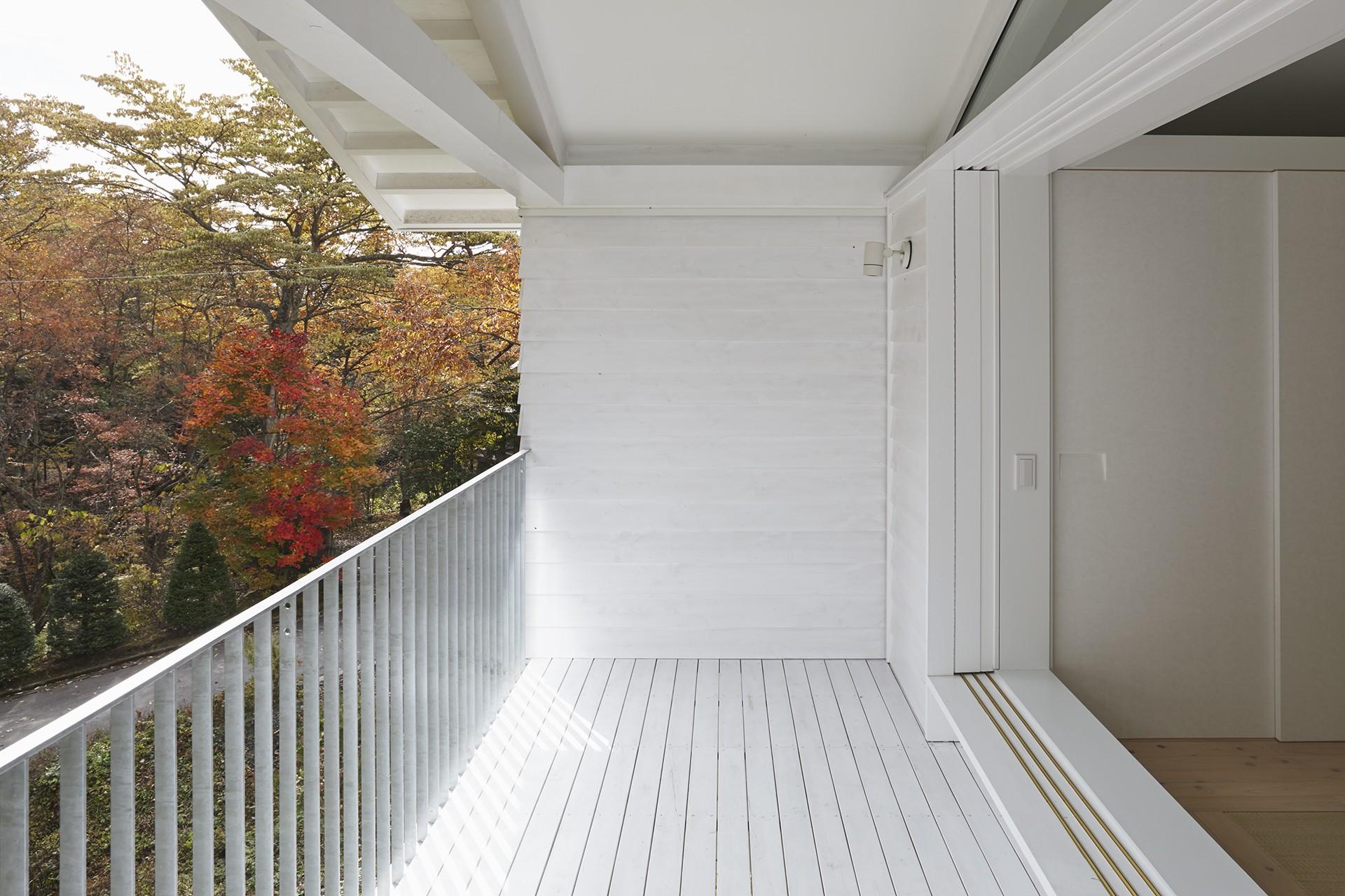 アウトドア事例:バルコニー(Villa Stella (autumn))