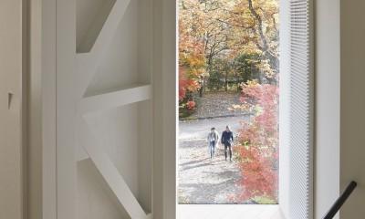 Villa Stella (autumn) (書斎)