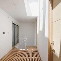 056平塚Kさんの家 (階段ホール)
