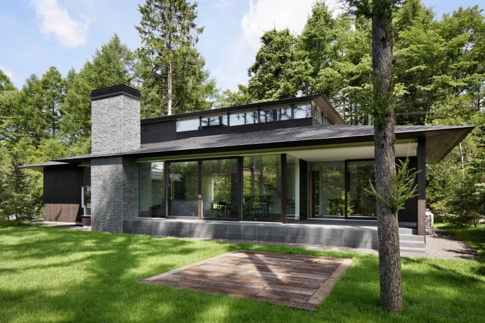 053 i-house in 軽井沢 (外観)