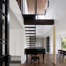 053 i-house in 軽井沢の写真 階段ホール