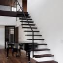 053 i-house in 軽井沢の写真 階段