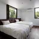 053 i-house in 軽井沢の写真 寝室