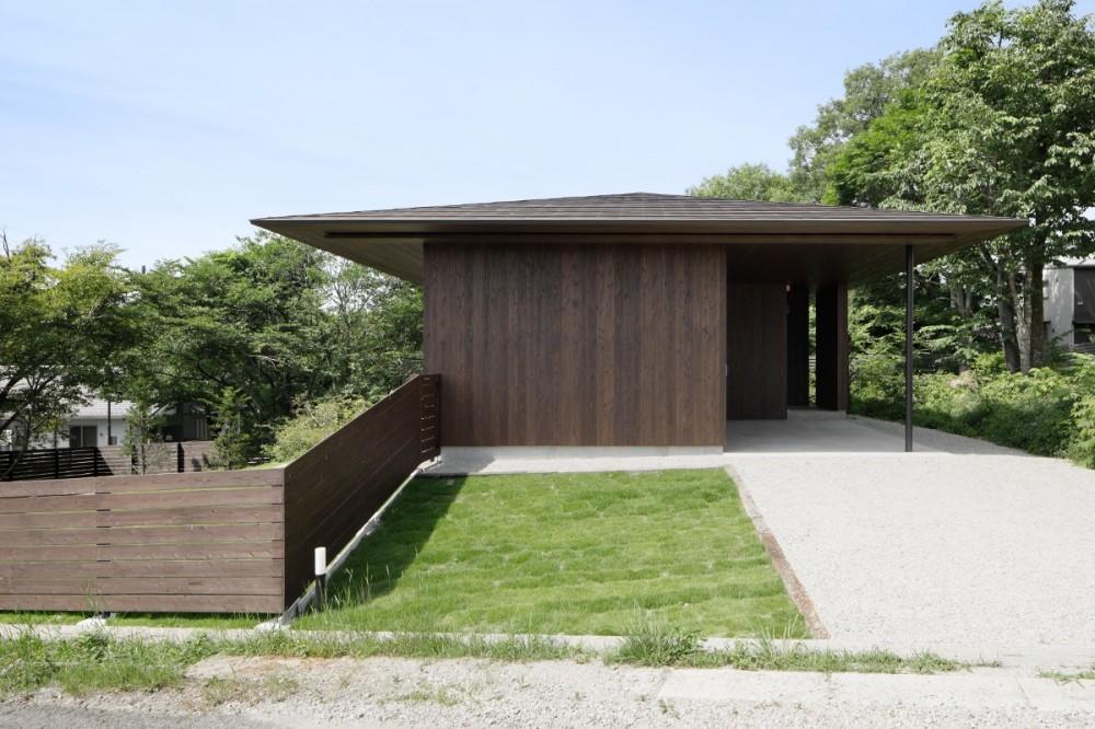 054那須Mさんの家 (道路側外観)