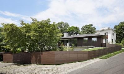 054那須Mさんの家 (外観ドッグラン)