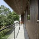 054那須Mさんの家の写真 バルコニー