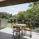 054那須Mさんの家の写真 インナーテラス