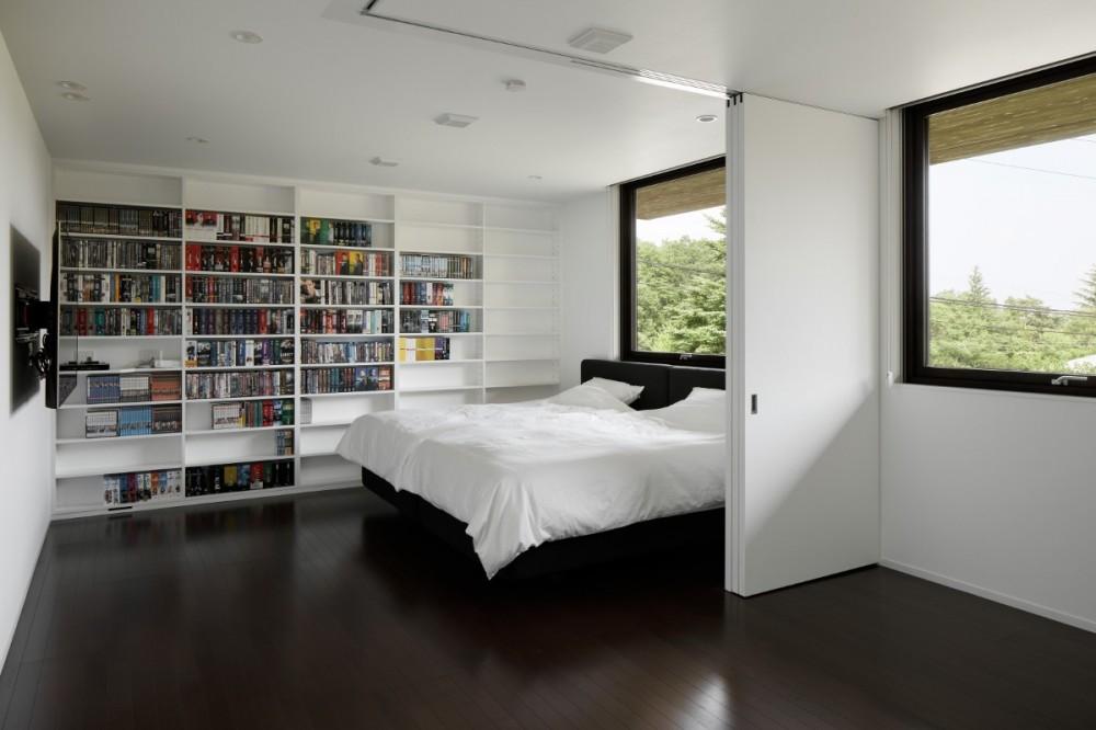 054那須Mさんの家 (寝室)