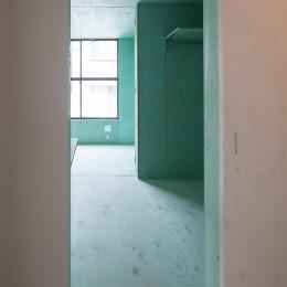 宮の坂の住宅 (寝室)