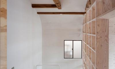 宮の坂の住宅 (階段)