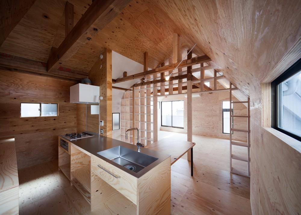 宮の坂の住宅 (キッチン)