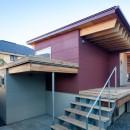 荻窪の住宅の写真 玄関アプローチ