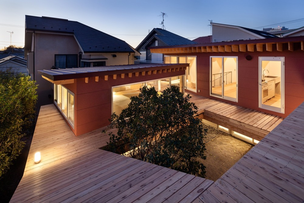 荻窪の住宅 (デッキスペース(屋根))