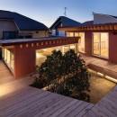 荻窪の住宅の写真 デッキスペース(屋根)
