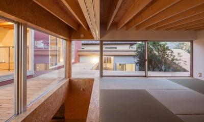 荻窪の住宅 (和室)