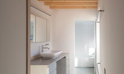 荻窪の住宅 (洗面・浴室)