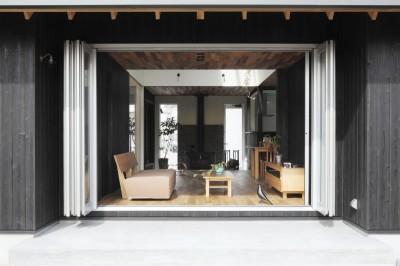窓 (薪ストーブのある三角屋根の暮らしを楽しむ家(末広の家))