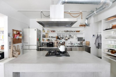 キッチン (モールテックスの家)
