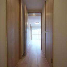 フレキシブルな2LDK (廊下)