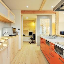 二世帯キッチン・ダイニングの問題を解決 (キッチン3)