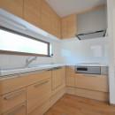 アートテラスホームの住宅事例「リビング続きにある2部屋が間仕切りで変化する家」