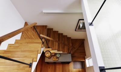 光を感じて暮らす (階段)
