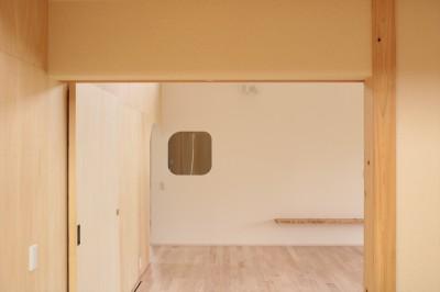 休耕地の家|和室/広間 (休耕地に建つ女性のための住宅)