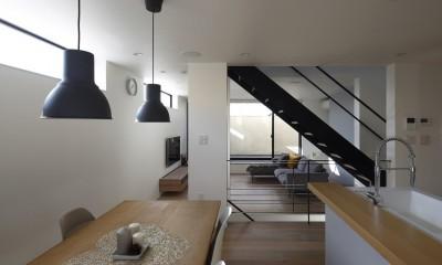 名古屋市N邸~高低差がある敷地のガレージハウス