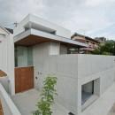 名古屋市T邸~混構造のガレージハウスの写真 西側外観