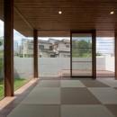 名古屋市T邸~混構造のガレージハウスの写真 リビング