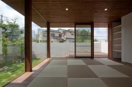 名古屋市T邸~混構造のガレージハウス (リビング)