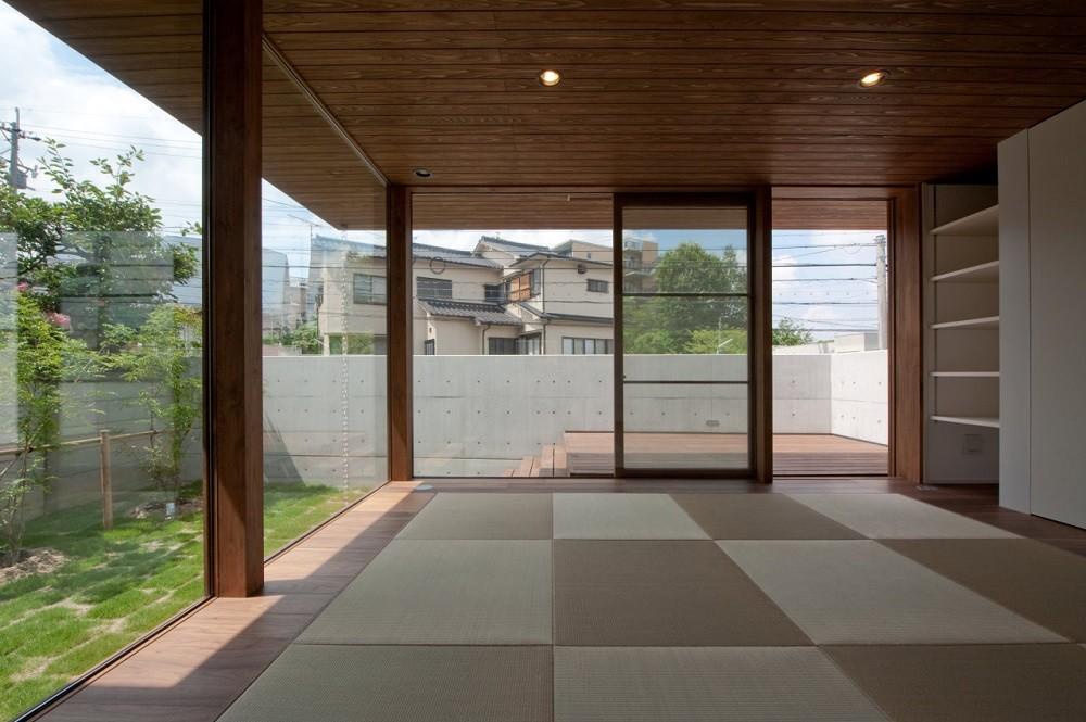 リビングダイニング事例:リビング(名古屋市T邸~混構造のガレージハウス)