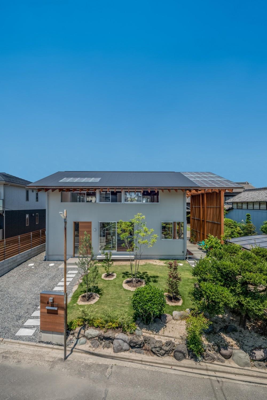 小田井の住宅 (南側外観)