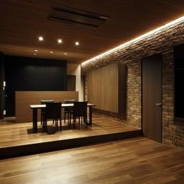 名古屋市S邸~ラグジュアリーなLDK空間があるガレージハウス