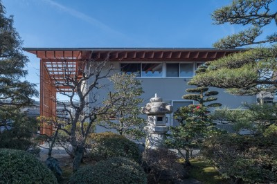 北側外観 (小田井の住宅)