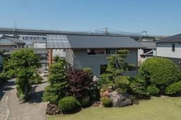 小田井の住宅 (鳥瞰)