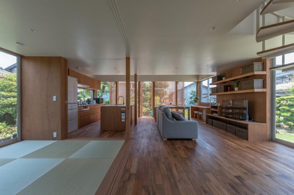 小田井の住宅 (1階全景)