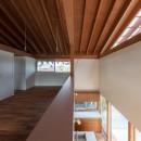 小田井の住宅の写真 室-1より吹抜を見る