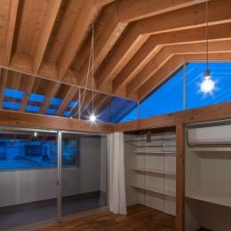 小田井の住宅 (室-2の天井見上げ)